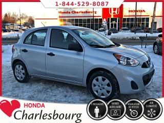 Used 2015 Nissan Micra S**AUTOMATIQUE+AIR CLIM** for sale in Charlesbourg, QC