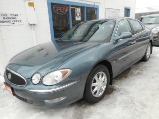 Used 2006 Buick Allure CXL *Clean Carproof* Certified w/ 6 Month Warranty for sale in Brantford, ON
