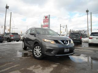 Used 2016 Nissan Rogue AUTO LOW KM NO ACCIDENT PW PL PM A/C GAS SAVER for sale in Oakville, ON