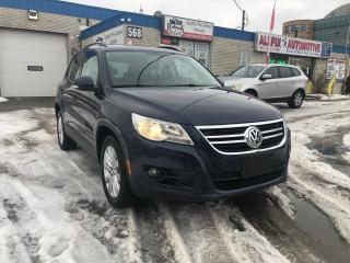 Used 2010 Volkswagen Tiguan 2.0T Comfortline_Panoramic Roof_Leather_Bluetooth for sale in Oakville, ON