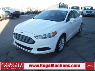 Used 2014 Ford Fusion SE 4D Sedan FWD 2.5L for sale in Calgary, AB