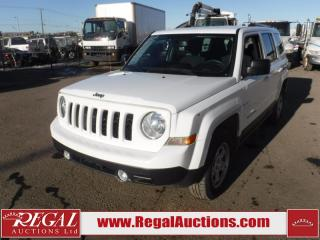 Used 2017 Jeep Patriot North 4D Utility 4WD 2.4L for sale in Calgary, AB