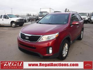 Used 2015 Kia Sorento LX 4D Utility AT AWD 2.4L for sale in Calgary, AB