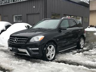Used 2012 Mercedes-Benz ML-Class ML 350 BlueTEC for sale in Coquitlam, BC