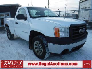 Used 2008 GMC Sierra 1500 2D REG CAB RWD for sale in Calgary, AB
