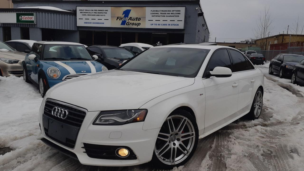 Photo of White 2010 Audi A4