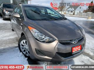 Used 2012 Hyundai Elantra GL | HEATED SEATS | BLUETOOTH for sale in London, ON