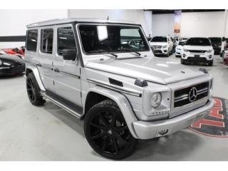 Used 2001 Mercedes-Benz G-Class G55 AMG WAGON for sale in Vaughan, ON