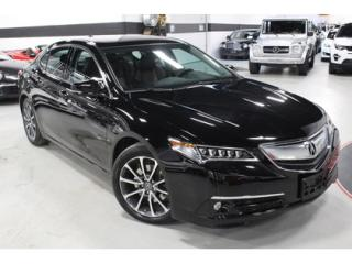 Used 2015 Acura TLX ELITE   FRONT COLLISION WARNING   LANE KEEP ASSIST for sale in Vaughan, ON