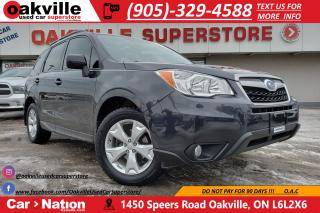 Used 2015 Subaru Forester 2.5i Touring | SUNROOF | HTD SEATS | MANUAL for sale in Oakville, ON