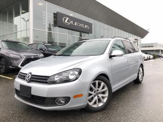 Used 2012 Volkswagen Golf Wagon 2.0 TDI Comfortline DSG at w/ Tip Local Vehicle, L for sale in North Vancouver, BC