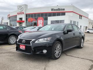 Used 2015 Lexus GS 350 GS 350 AWD Leather / Moonroof/ Back Up Camera for sale in Etobicoke, ON