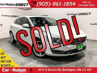 Used 2016 Volvo S60 T5 Special Edition Premier| AWD| NAVI| SUNROOF| for sale in Burlington, ON