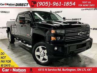 Used 2018 Chevrolet Silverado 2500 HD LTZ Z71| LEATHER| SUNROOF| NAVI| for sale in Burlington, ON
