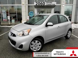 Used 2015 Nissan Micra SV  A/C-POWER GROUP-LOW KMS for sale in Port Coquitlam, BC