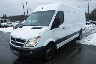 Used 2007 Dodge Sprinter 3500 170-in. WB Cargo Van High Roof Extended for sale in Burnaby, BC
