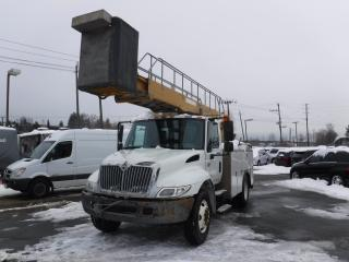 Used 2002 International 4300 Bucket Truck with Generator Diesel and Air Brakes for sale in Burnaby, BC
