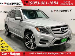 Used 2013 Mercedes-Benz GLK-Class GLK 350 4MATIC| DUAL SUNROOF| BACK UP SENSORS| for sale in Burlington, ON