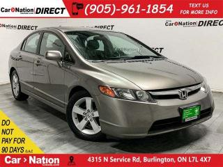 Used 2006 Honda Civic LX| AS-TRADED| ONE PRICE INTEGRITY| for sale in Burlington, ON