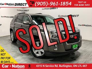 Used 2011 GMC Terrain SLT-1| LOCAL TRADE| LEATHER| SUNROOF| for sale in Burlington, ON
