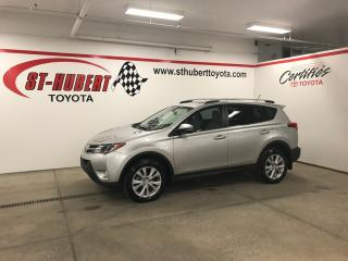 Used 2015 Toyota RAV4 Ltd, Navigation, Awd for sale in St-Hubert, QC