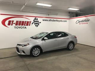 Used 2014 Toyota Corolla LE for sale in St-Hubert, QC