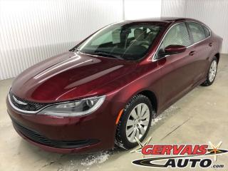 Used 2016 Chrysler 200 Lx A/c for sale in Shawinigan, QC