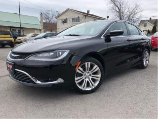 Used 2015 Chrysler 200 Limited Nice Local Trade In! Leather Interior for sale in St Catharines, ON