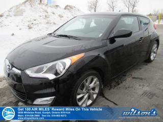 Used 2017 Hyundai Veloster - Bluetooth, Steering Wheel Radio Controls, Keyless Entry and more! for sale in Guelph, ON