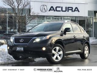 Used 2010 Lexus RX 350 6A Touring Pkg - Navi, Backup Cam, Pwr Trunk for sale in Markham, ON