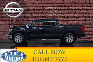 Used 2017 Nissan Titan 4x4 Crew Cab SV Nav BCam for sale in Red Deer, AB