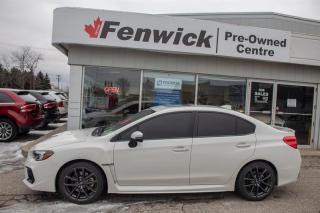 Used 2018 Subaru WRX 4Dr Sport-Tech Pkg 6sp for sale in Sarnia, ON