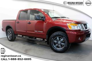Used 2014 Nissan Titan Crew Cab PRO-4X 4X4 SWB ONLY 47000 KM! NO COLLISIONS! for sale in Regina, SK