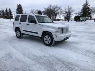 Used 2012 Jeep Liberty Sport Alloys/New Tires/Very Clean Low KM for sale in Winnipeg, MB