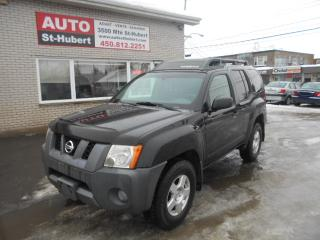 Used 2007 Nissan Xterra OFF Road 4X4 for sale in St-Hubert, QC