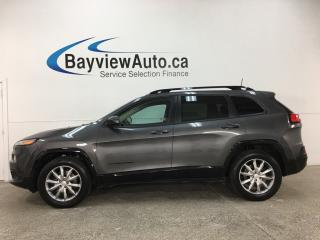 Used 2018 Jeep Cherokee North - 4X4! REMOTE START! NAV! HTD SEATS! U-CONNECT! ALLOYS! for sale in Belleville, ON