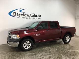 Used 2017 RAM 1500 ST - 4X4! HEMI! HITCH! A/C! CRUISE! ALLOYS! for sale in Belleville, ON