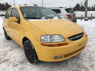 Used 2008 Chevrolet Aveo 5 Familiale 5 portes LS for sale in Drummondville, QC