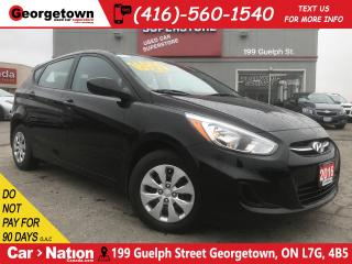 Used 2016 Hyundai Accent LE  ONLY 8,441KMS  A/C  USB/AUX IN  HATCH for sale in Georgetown, ON