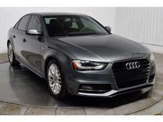 Used 2015 Audi A4 En Attente for sale in L'ile-perrot, QC