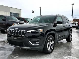 Used 2019 Jeep Cherokee LIMITED 4X4 *CUIR*TOIT*SIÈGE VENTILÉ* for sale in Brossard, QC