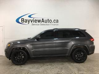 Used 2018 Jeep Grand Cherokee Laredo - 4X4! HTD LTHR! SUNROOF! NAV! REMOTE START! ALLOYS! for sale in Belleville, ON