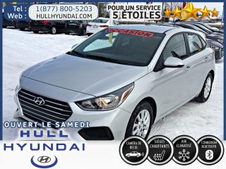 Used 2018 Hyundai Accent GL for sale in Gatineau, QC