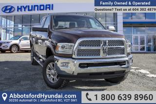 Used 2015 RAM 3500 Laramie BC OWNED & ACCIDENT FREE for sale in Abbotsford, BC