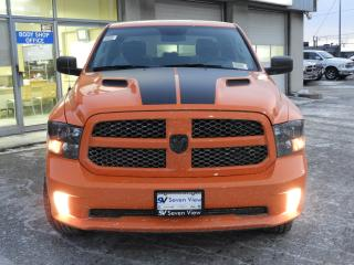 New 2019 RAM 1500 Classic Express Ignition Orange PKG SPORT HOOD BLACK RIMS  for sale in Concord, ON