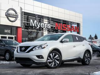Used 2016 Nissan Murano Platinum for sale in Orleans, ON