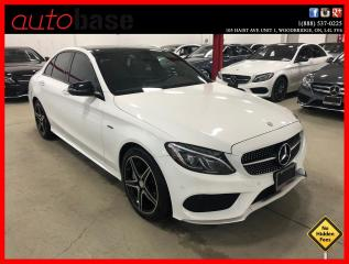 Used 2016 Mercedes-Benz C-Class C450 AMG 4MATIC PREMIUM LED CLEAN CARFAX for sale in Vaughan, ON
