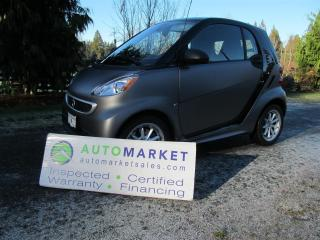 Used 2016 Smart fortwo ELECTRIC DRIVE, PASSION,  BCAA MBSHP, for sale in Surrey, BC