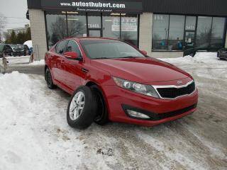 Used 2013 Kia Optima LX **PNEUS D'ÉTÉ ET PNEUS D'HIVER** for sale in St-Hubert, QC