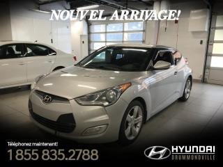 Used 2012 Hyundai Veloster GARANTIE + CAMÉRA + MAGS + A/C + BLUTOOT for sale in Drummondville, QC